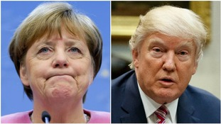 Angela Merkel and Donald Trump set for tense White House encounter