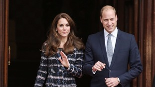 Duke and Duchess of Cambridge in Paris visit