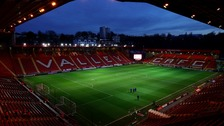 MK Dons will now visit The Valley in April.