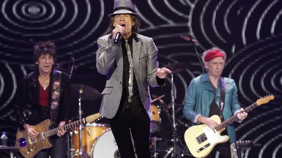 The Rolling Stones played London&#x27;s O2 Arena to mark 50 years in the industry