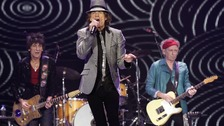 The Rolling Stones played London's O2 Arena to mark 50 years in the industry