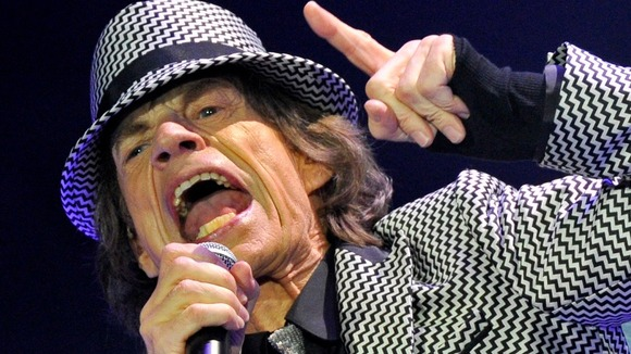 Sir Mick Jagger sings to the crowd after the Rolling Stone&#x27;s five-year hiatus