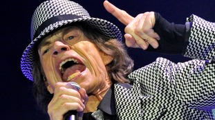 Sir Mick Jagger sings to the crowd after the Rolling Stone's five-year hiatus
