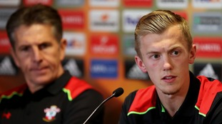 Claude Puel and James Ward-Prowse