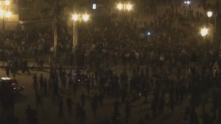 Street clashes occur outside the office of Egypt's Muslim Brotherhood