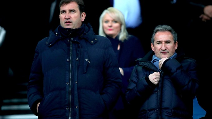 Txiki Begiristain (right) is Manchester City's Director of Football.