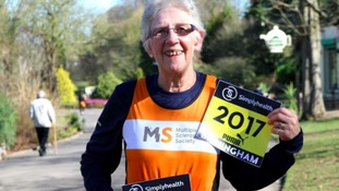 70-year-old Hazel takes on first 10k race