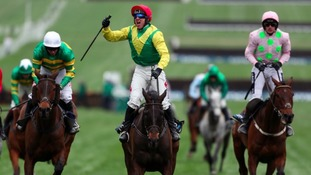 Sizing John wins the Cheltenham Gold Cup