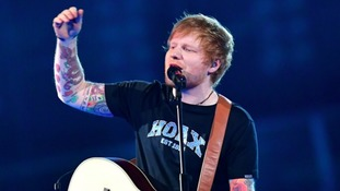 Sheeran was recently announced as the final Glastonbury headliner, alongside Radiohead and Foo Fighters