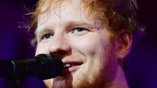 Ed Sheeran continues domination of UK album and singles charts