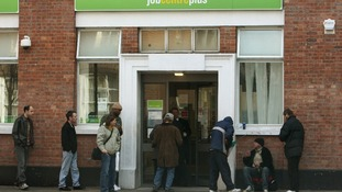 Job Centre Plus queue