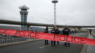 French police have urged people to stay away from Orly airport.