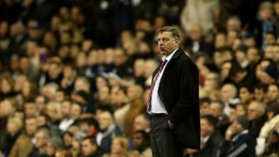 West Ham manager Sam Allardyce said he did not hear the chanting