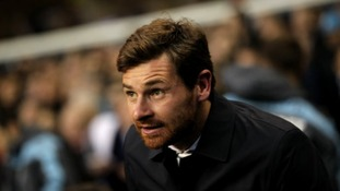 Tottenham Hotspur manager Andre Villas-Boas on the touchline