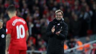 Jurgen Klopp, Philippe Coutinho at Liverpool