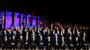 G20 Finance Ministers and Central Bank Governors at the meeting in Baden-Baden, Germany.