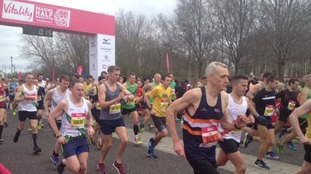 Pictures: all the colour from the Reading half marathon
