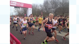 Half marathon weekend raises millions for charity