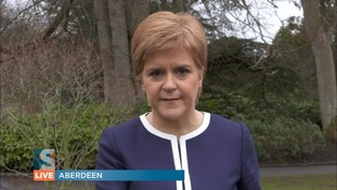 Nicola Sturgeon said she was still 'up for discussion with Theresa May'