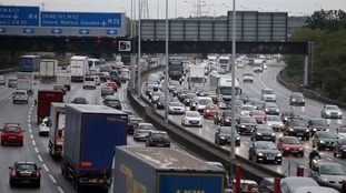 Rush hour now lasts '12 hours a day' on the M25