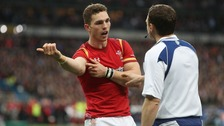George North claims he's been bitten
