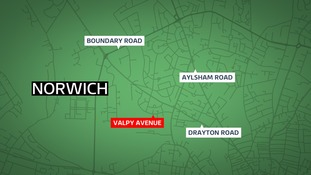 Police were called to Valpy Avenue on Sunday.