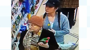 Two women, one 'in her 80s' sought in connection with Hampshire theft