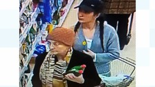 Woman 'in her 80s' sought in connection with purse theft