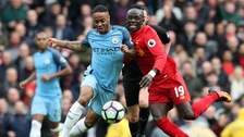 Raheem Sterling and Sadio Mane
