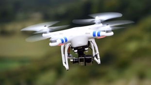 Stock image of a drone.