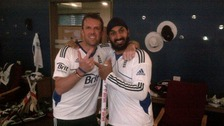 Swann and Panesar celebrate