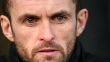 Nathan Jones is staying at Luton Town.