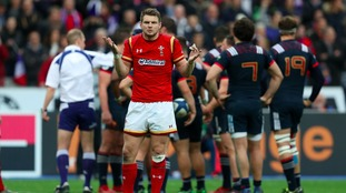 Wales' Dan Biggar during the RBS 6 Nations match at the Stade de France