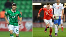 Hoolahan (left) and Lawrence (right) will play no part in Dublin.