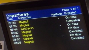 The last Merseyrail strike caused some disruption