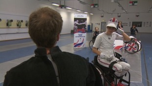 Bath-based wheelchair fencer wins double gold