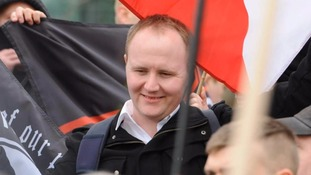 James Mac at a National Action demonstration in March 2015.