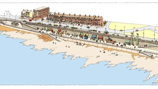Whitley Bay sea wall scheme