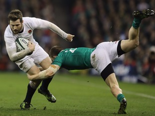 England were brought down to earth as their record-equalling winning Test run came to an end in Ireland.