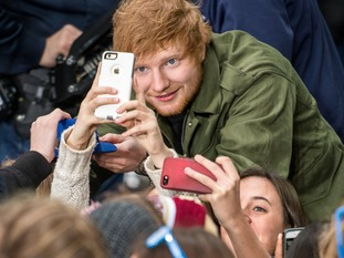 Ed's urged fans before to not buy tickets at inflated prices.