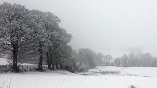 Lancashire snow