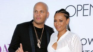 A file photo of Stephen Belafonte and his wife Melanie Brown.