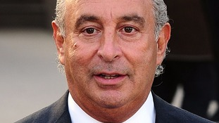 Sir Philip Green, pictured last year.
