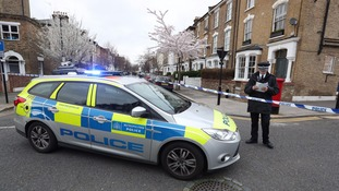 Police sealed off Wilberforce Road, near Finsbury Park, after the incident.