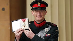 Major General Rupert Jones was made a CBE in 2014.