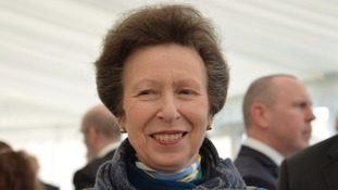 Princess Anne is in Cumbria today