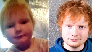 Is this the world's youngest Ed Sheeran lookalike?