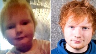 Two-year-old Isla has become a viral hit because of her likeness to Ed Sheeran.