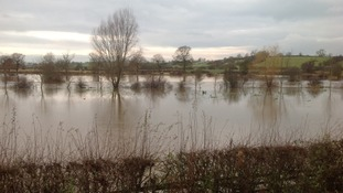 Flooding in Lichfield