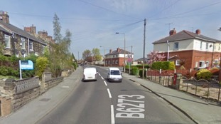 The incident happened on Rotherham Road